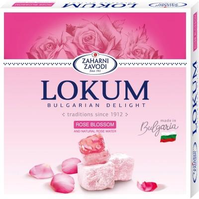 Локум с розов цвят Захарни заводи