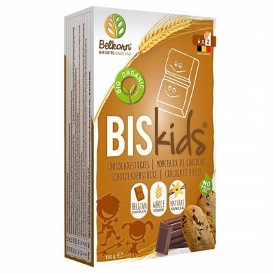 БИО Детски бисквити Belkorn с парченца шоколад