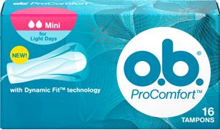 Дамски тампони o.b. Pro Comfort mini