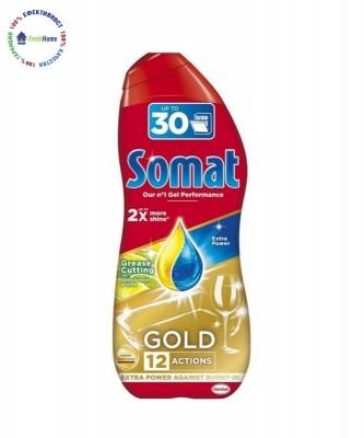 Гел за съдомиялна Somat Gold lemon & lime