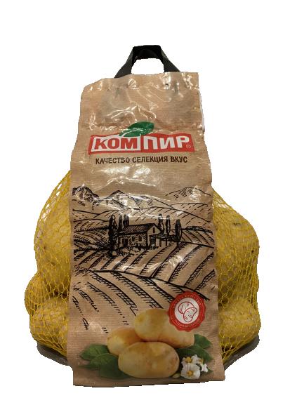 Мити картофи мрежа