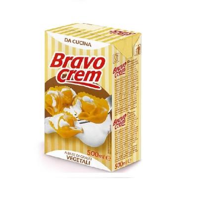 Сметана UHT Bravo Crem