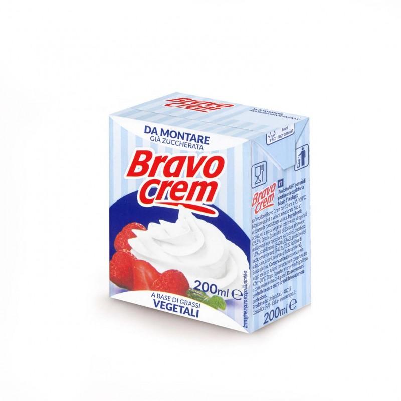 Сметана подсладена UHT Bravo Crem