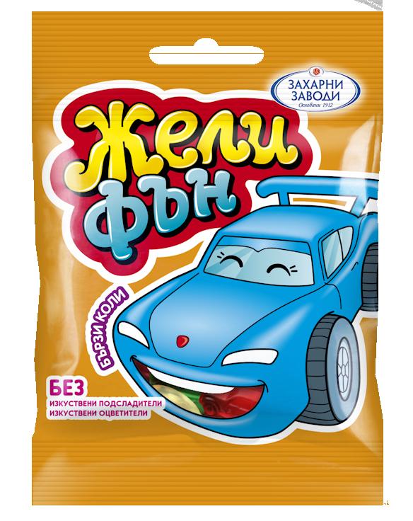 Бонбони Жели фън Леки коли