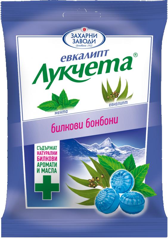 Бонбони Лукчета Евкалипт