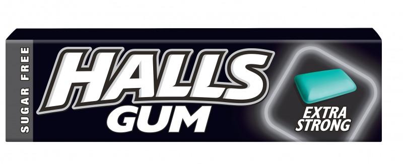 Дъвки HALLS Extra Strong дражета
