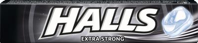 Бонбони HALLS Extra Strong