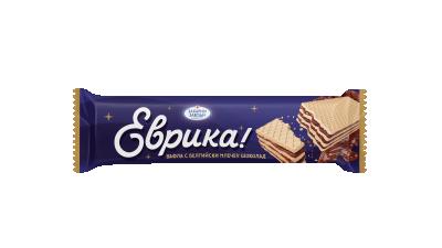 Вафла Еврика Белгийски шоколад