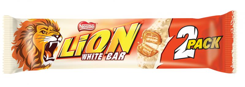 Шоколадов десерт Lion 2 Pack White Bar