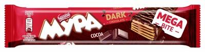 Вафла Мура MegaBite Тъмен Шоколад
