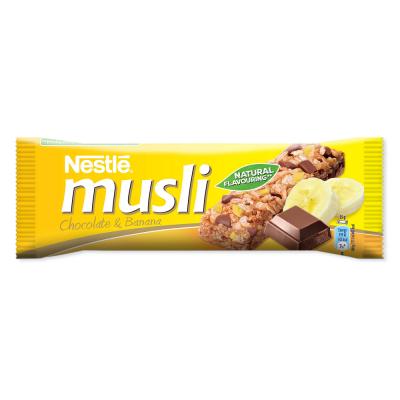 Зърнен десерт Nestle Musli Шоколад и банан