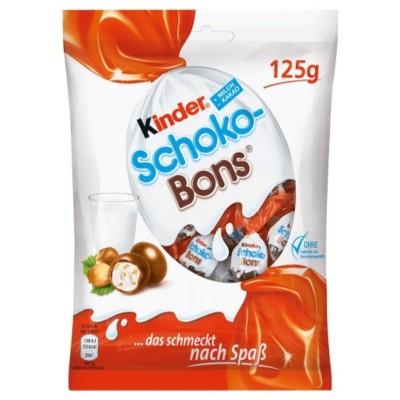 Шоколадови бонбони Kinder Schokobons