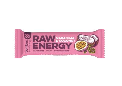 Суров бар Raw Energy с маракуя и кокос