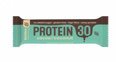 Протеинов бар Bombus с кокос и какао 30%