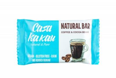 Натурален десерт Casa Kakau Кафе и Какаови зърна (Без захар)