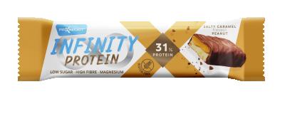 Протеинов бар Max Sport Infinity Protein 31% Солен Крамел и Фъстъци