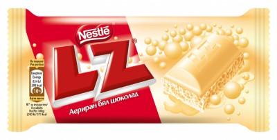 Шоколад LZ Бял
