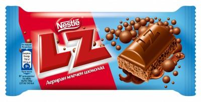 Шоколад LZ Млечен