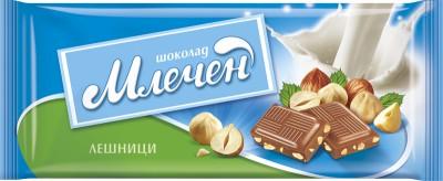 Шоколад Млечен Лешници