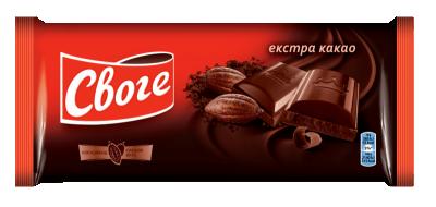 Шоколад Своге Натурален