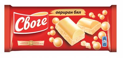 Шоколад Своге Аеро бял