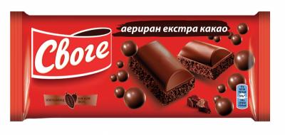 Шоколад Своге Аеро екстра какао