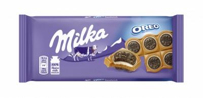 Шоколад Milka Oreo Сандвич