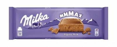 Шоколад Milka Алпийско мляко