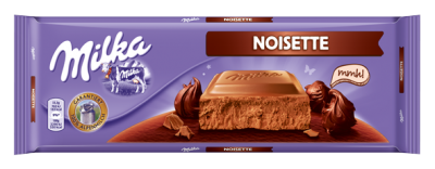 Шоколад Milka Noisette (млян лешник)