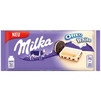 Бял шоколад Milka Oreo