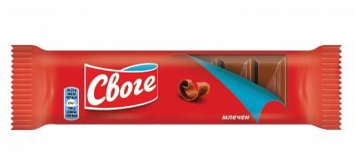 Шоколад Своге Млечен