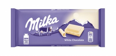 Шоколад Milka бял