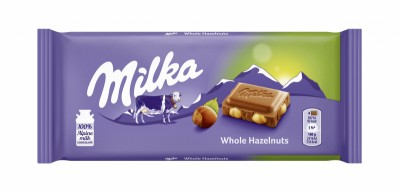 Шоколад Milka цял лешник