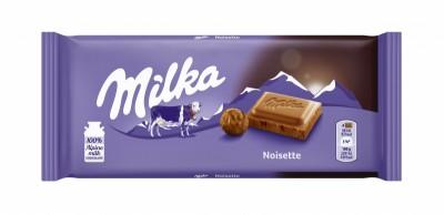 Шоколад Milka млян лешник