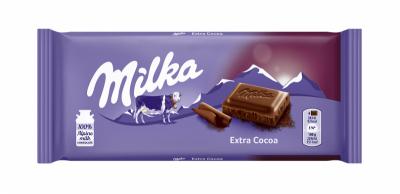 Шоколад Milka екстра какао