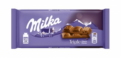 Шоколад Milka Triple Choco