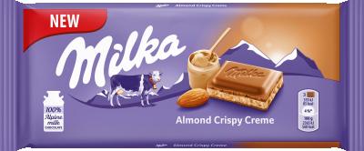 Шоколад Milka Бадем