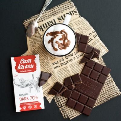 Занаятчийски, ръчен шоколад Casa Kakau оригинал