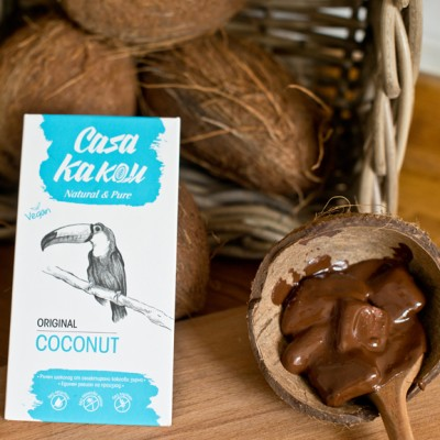 Занаятчийски, ръчен шоколад Casa Kakau Кокос