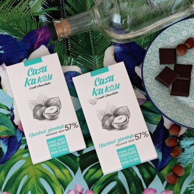 Занаятчийски, ръчен шоколад Casa Kakau лешници