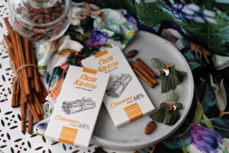 Занаятчийски, ръчен шоколад Casa Kakau канела