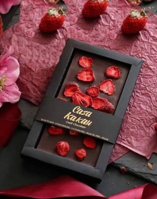 Занаятчийски, ръчен шоколад Casa Kakau ягоди