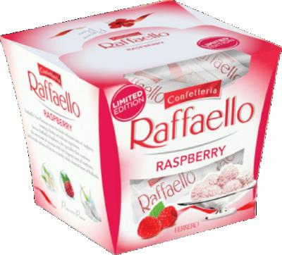 Шоколадови бонбони Raffaelo малина