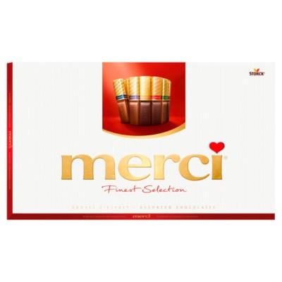 Шоколадови бонбони Merci