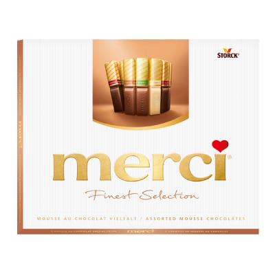 Шоколадови бонбони Merci Mousse