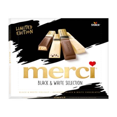 Шоколадови бонбони Mersi Black & White selection