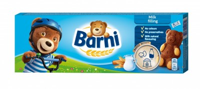 Кексчета Barni Мляко