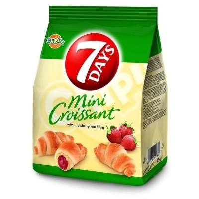 Мини кроасани 7 Days ягода
