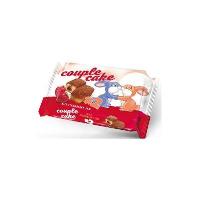 Мини кекс Couple Cake с ягодов конфитюр