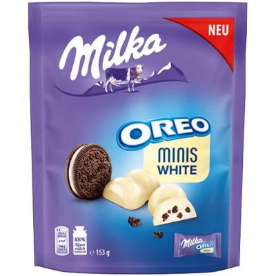 Бисквити Milka Oreo Минис бял